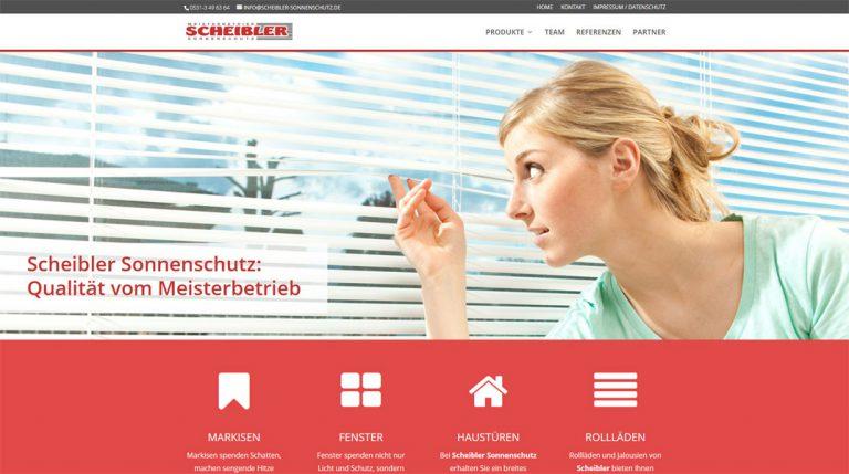 Scheibler-Sonnenschutz
